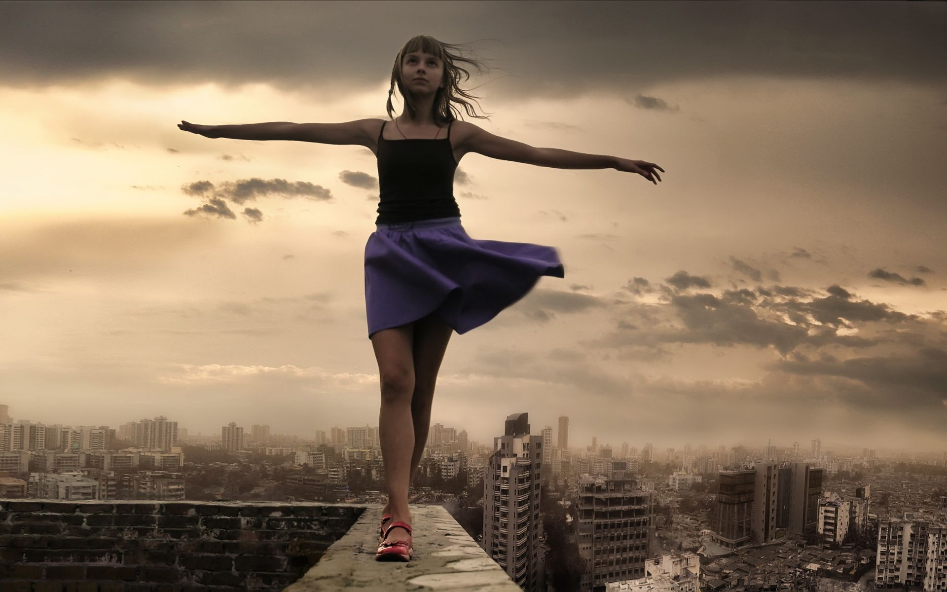 levitating girl wallpaper - photo #33