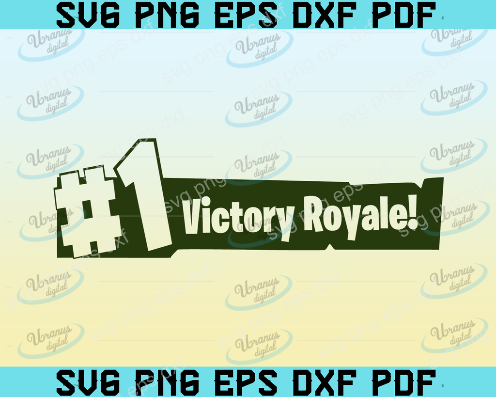 Victory Royale Svgsvg Files For Silhouette Files For Cricut Svg Dxf Eps Png Instant Download Svg Dxf Cricut Svg