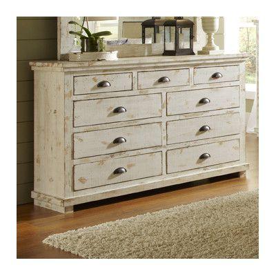Progressive Furniture Inc. Willow 9 Drawer Dresser
