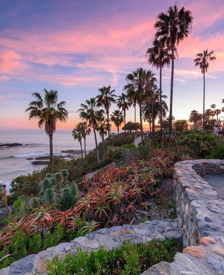 Camping At Huntington Beach State Park: Heisler Park, Laguna Beach, CA