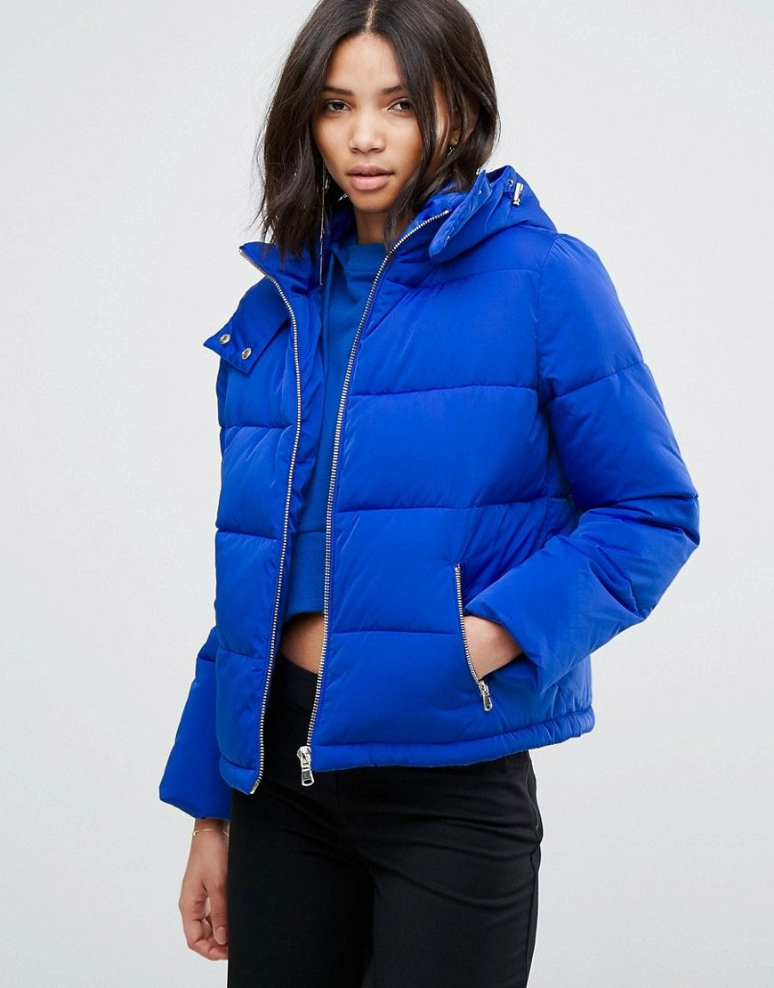 Miss Selfridge Padded Jacket Multi | Womens quilted jacket