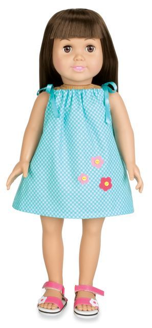 30-Minute Doll Clothes #dollclothes