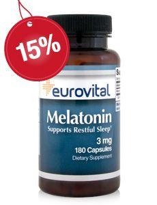 MELATONIN ist ein Hormon das in der Zirbeldrüse produziert wird und für die Regulierung des Schlafes verantwortlich ist