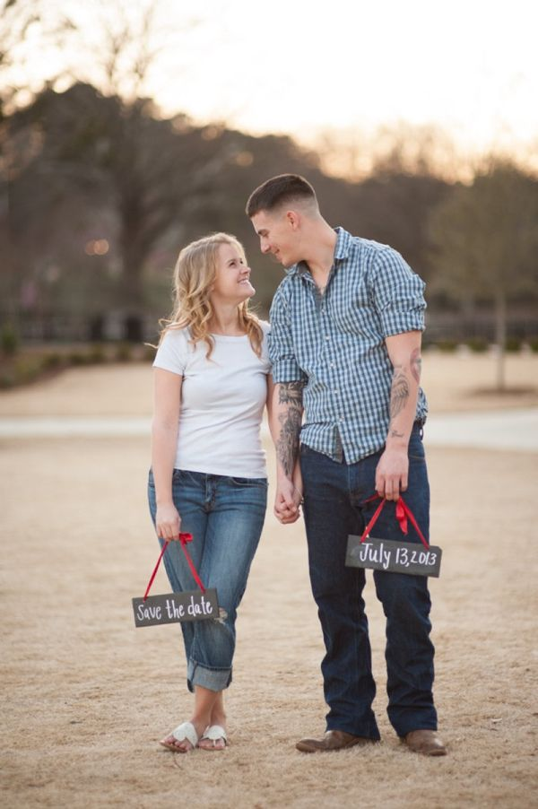 A Casual Country Engagement Session Chalkboards Photography And