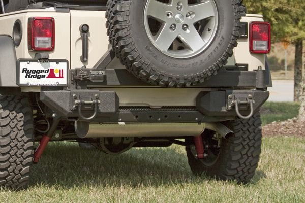 The Preowned Jeep Store Rugged Ridge Xhd Rear Aluminum Bumper