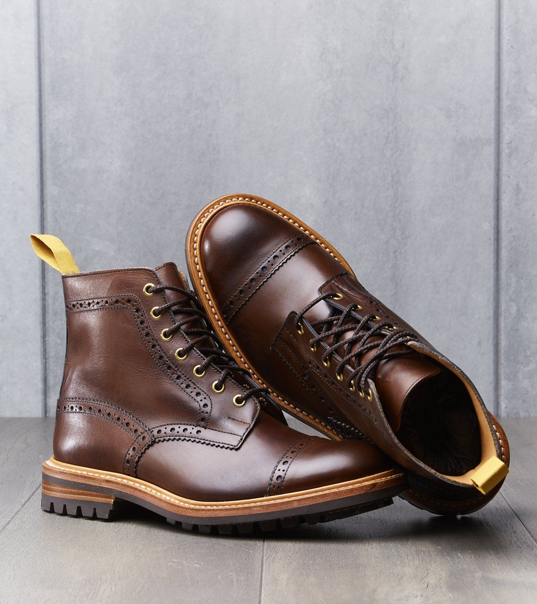 b80a2d57ed4 Eaton Boot - Commando - Coffee Burnished in 2019 | Boots | Brown ...