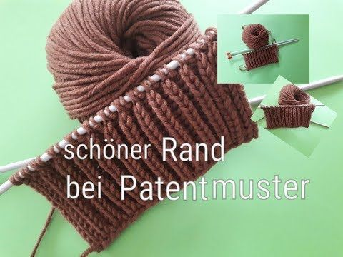 Photo of Knit edge stitches in patent designs