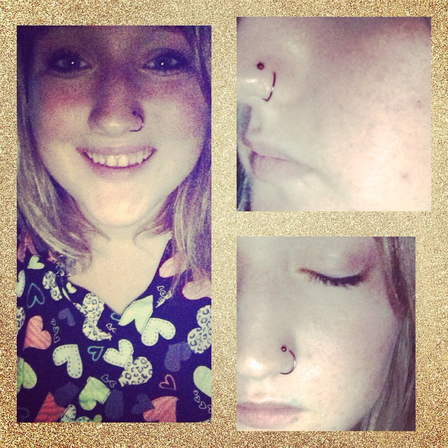 Double nose piercing  Totally in love. #doublenosepiercing