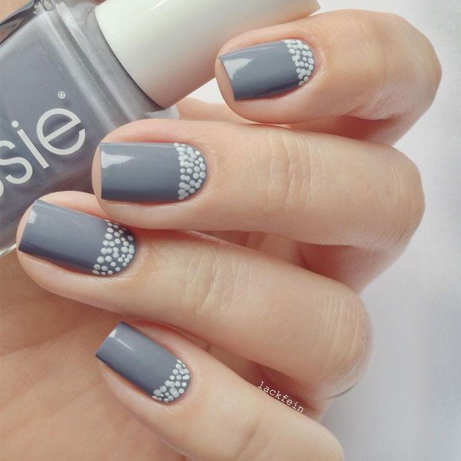 Trendy Manicures In Fall Nails Colors 2018 Inspired By