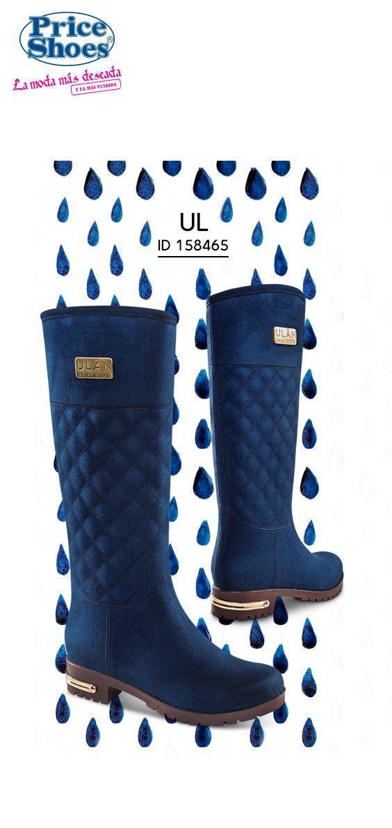 Aún bajo la lluvia tenemos estilo. Botas Lluvia 6ab7d37b7ec3c