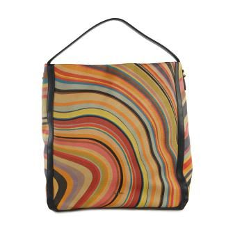 Paul Smith Accessories Womens Westbourne Swirl Print Leather Wallet
