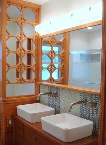 Mid Century Ranch Bathroom Remodel    MODERN RENOVATIONS