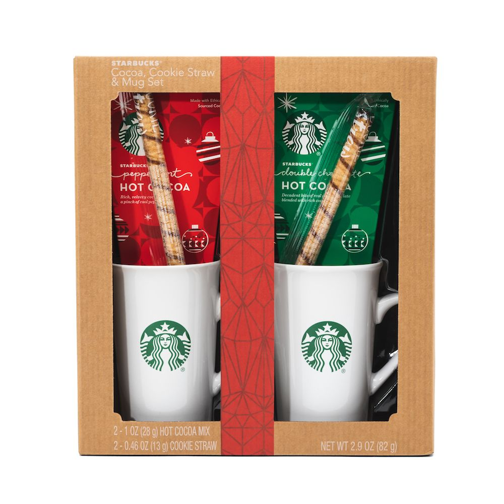 Starbucks Cozy Cocoa Gift Set Thoughtfully Cocoa gift