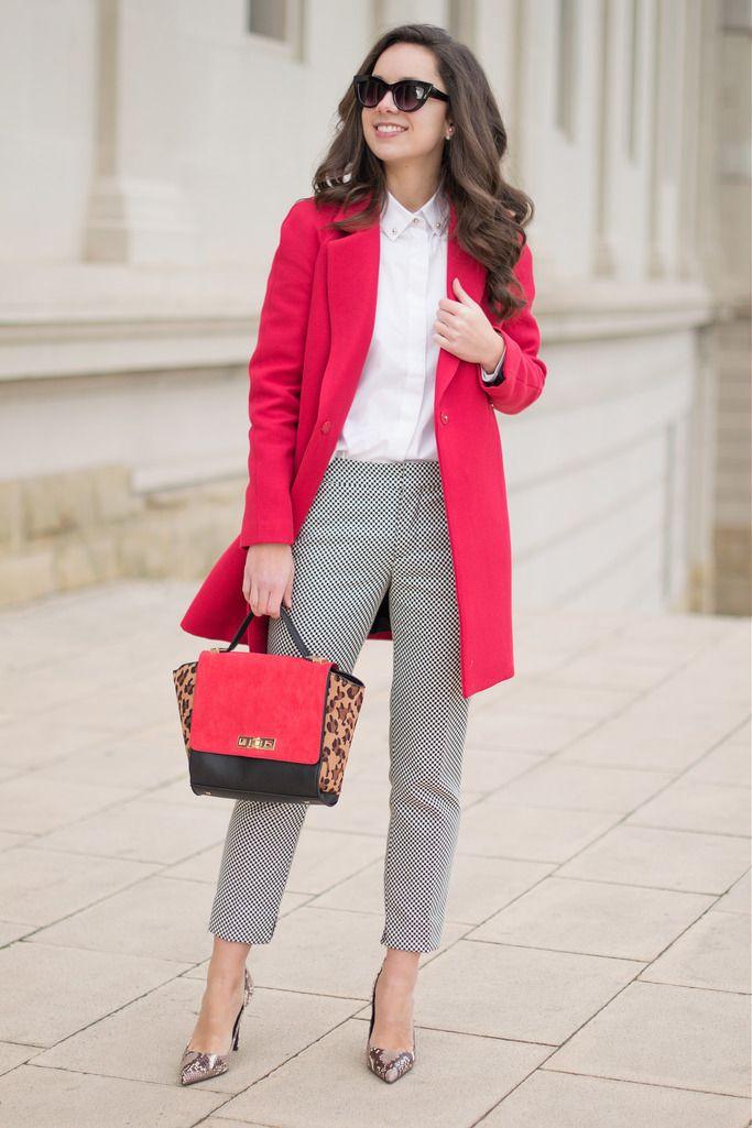 Cómo Rojo Abrigo Con Tu Sorprender Combinar Pintas Un Y Look ptqrpw
