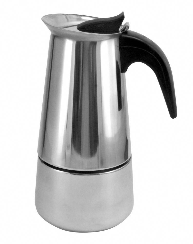 Stainless steel stovetop espresso coffee maker cup free shipping