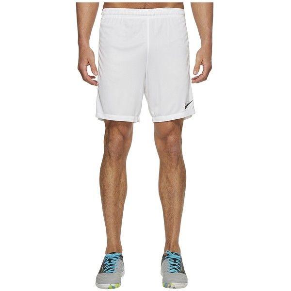 Nike Dry Squad Soccer Short (White/Black/Black) Men's Shorts (€