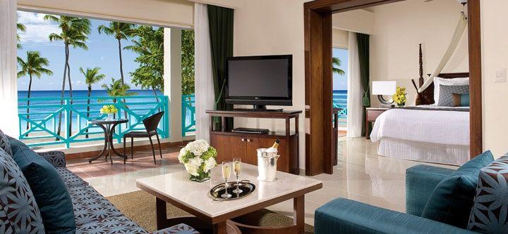Preferred Club Honeymoon Suite Ocean Front Dreams La Romana Resort Spa Dreams La Romana Dreams Resorts Resort Spa