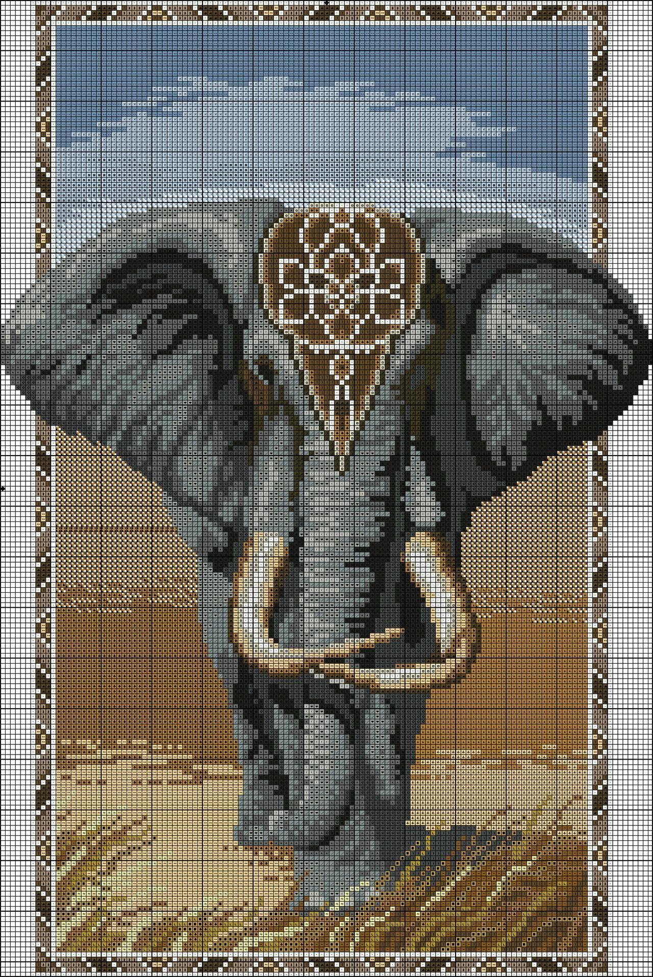 African Elephant Вышивка крестом Pinterest African