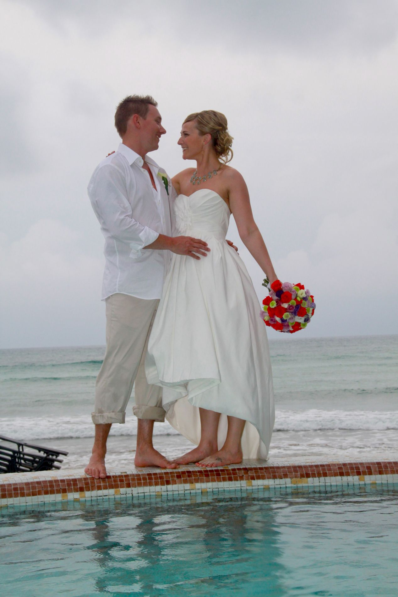 Wedding renewal dresses for beach  The perfect beach wedding dress High low  Wedding  Pinterest
