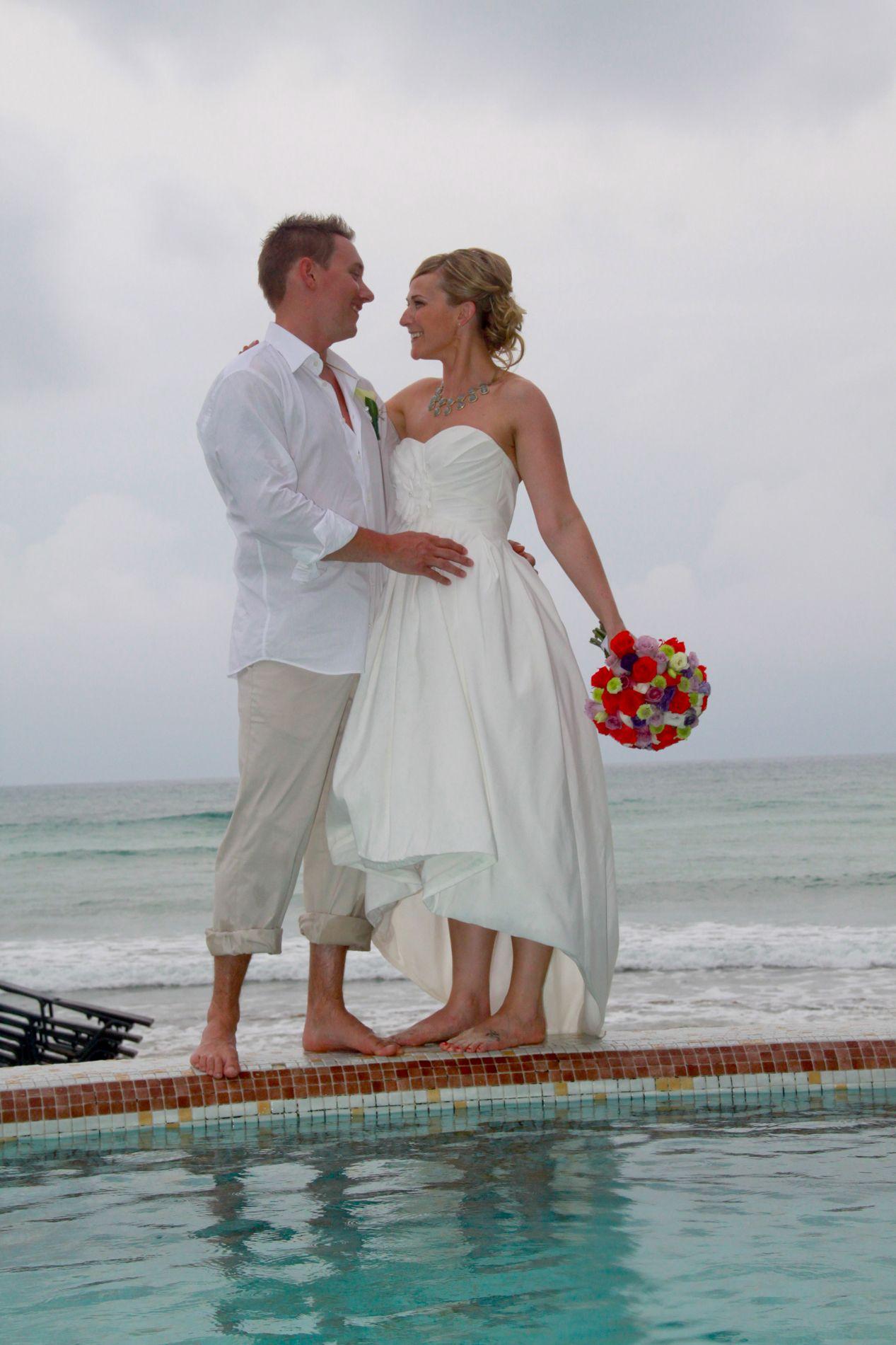 The perfect beach wedding dress high low wedding pinterest