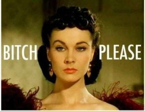 Scarlett O'Hara is my spirit animal along with Mammie from this movie