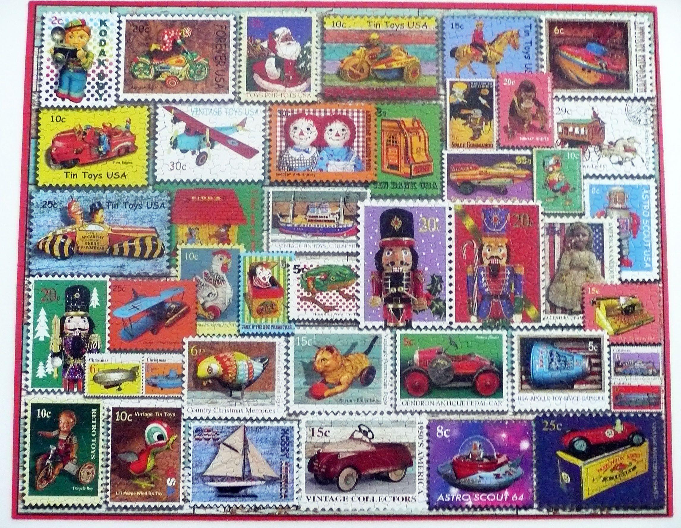 Vintage Tin Toys 500 Pieces Jigsaw Puzzle