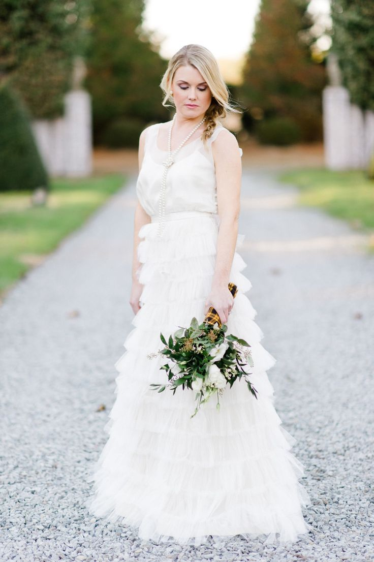 nice Wedding Dresses & Gowns 2017 / 2018Pretty ruffled BHLDN dress ...
