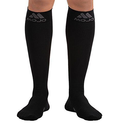 80566ea8f3e Mojo Compression Socks Comfortable Coolmax Material for Recovery    Performance. Medical Support Socks – Firm Support