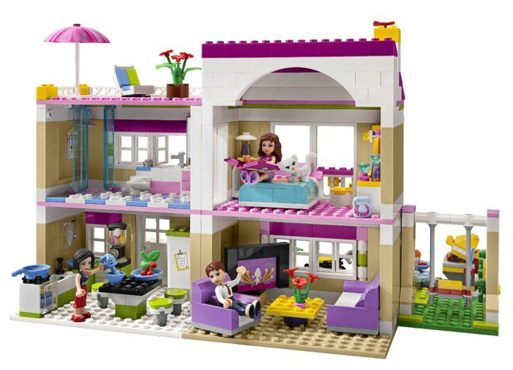 For 5 Year Olds Lego Friends Olivia S House Lego Friends Lego Girls Lego Friends Sets