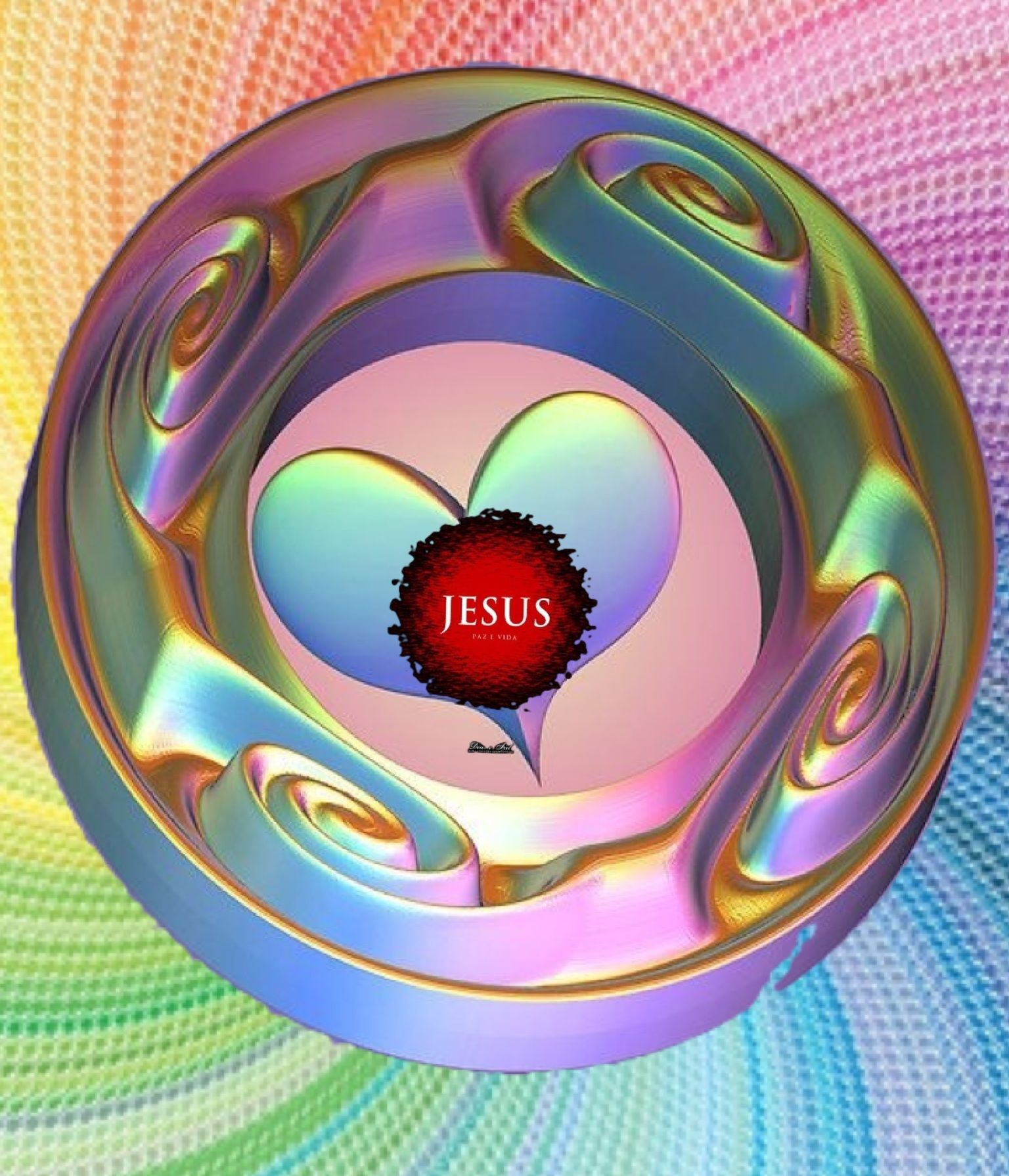 Jesus - made by Dave L Walli with Bazaart #collage