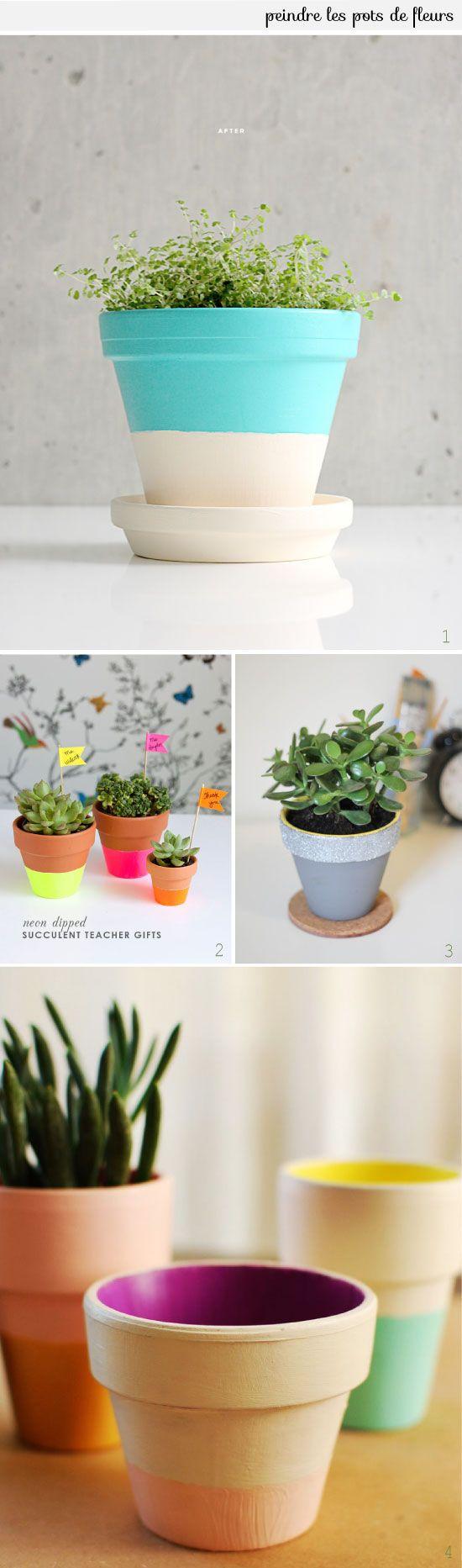 L'atelier du mercredi : avec des pots de fleurs
