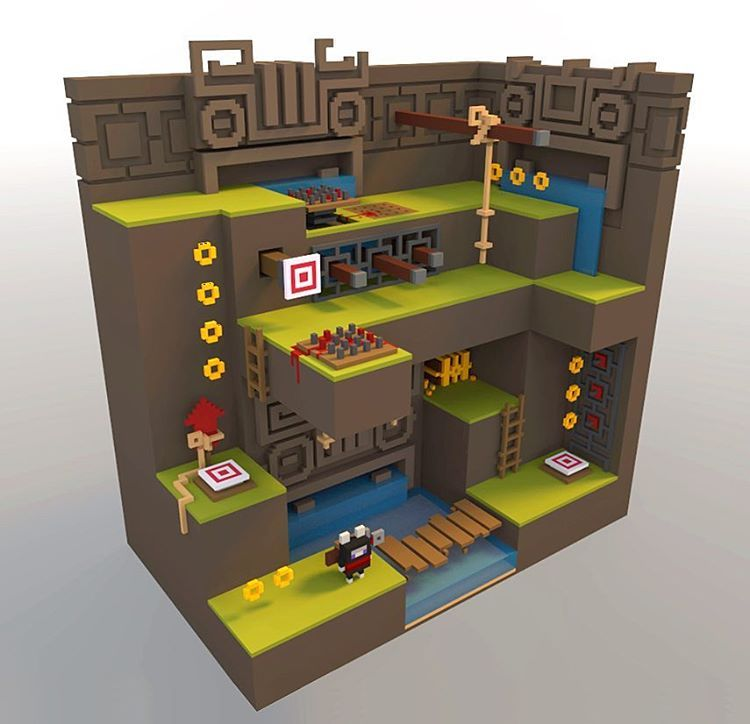 With MANU Video Game Maker you can create 2D/ 3D games