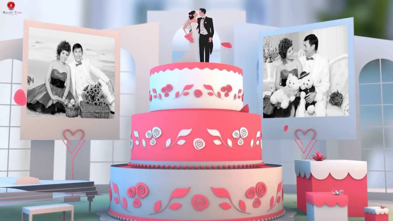 Tutorial After Effects Template  - Pop Up Album Wedding Pack 56 - Downlo...