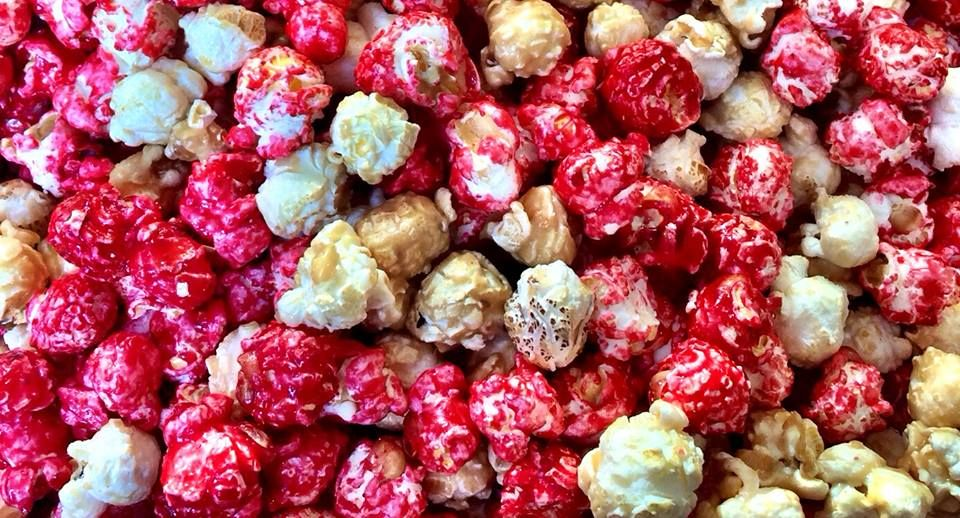 #RaspberryRomance popcorn from #Kernels! So good! Just can't get enough!  #Sarnia #Snacks #Yummy