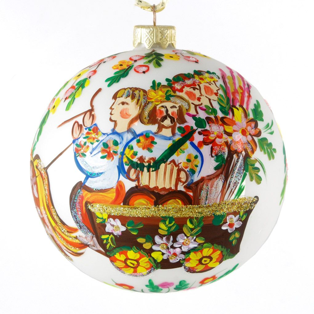 Ukrainian christmas ornaments - Made In Ukraine Traditional Christmas Ornaments