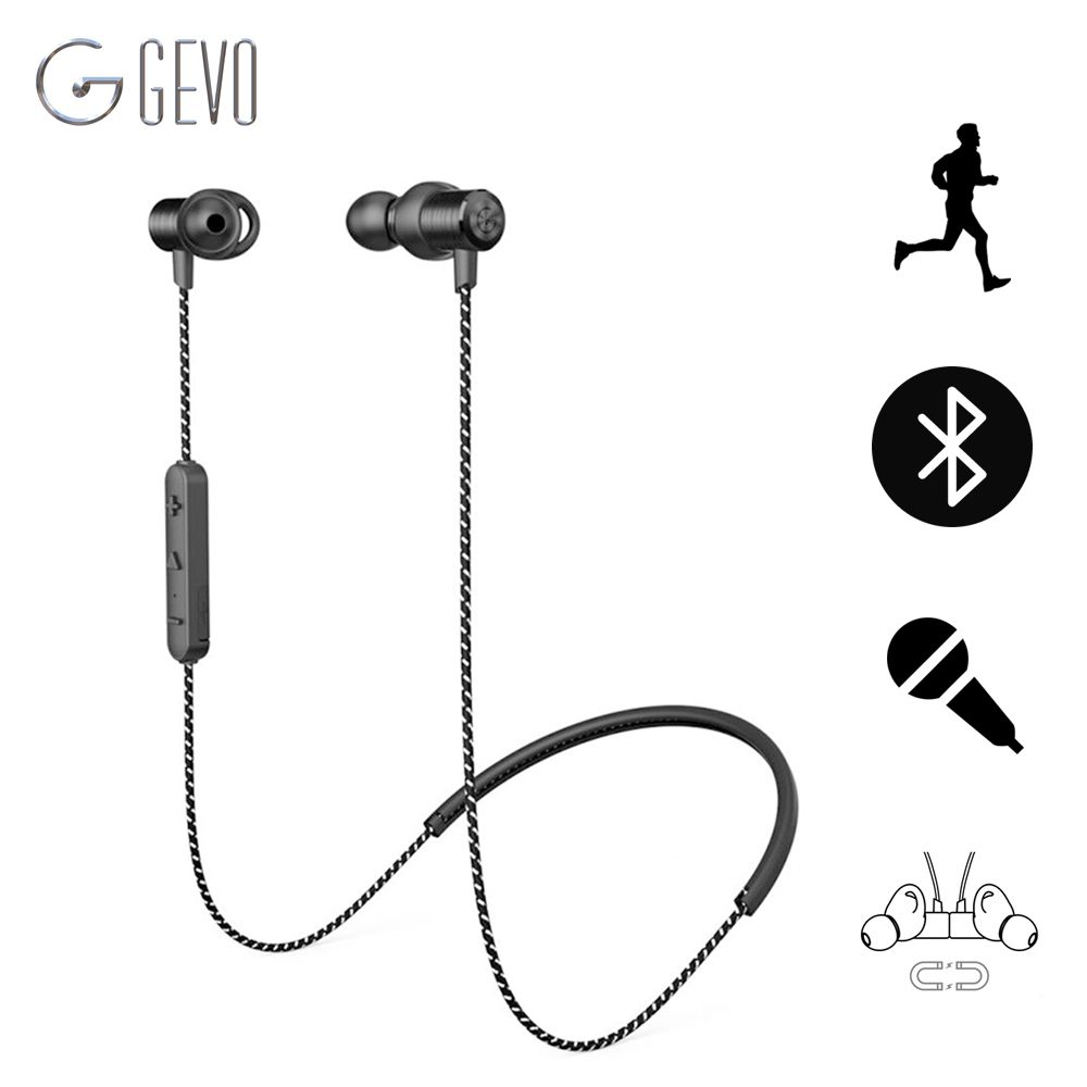 ==> [Free Shipping] Buy Best GEVO GV-18BT Wireless Bluetooth Earphone Sport In-ear Magnetic Stereo Waterproof Headset Noise Cancelling Earbuds For Phone Online with LOWEST Price | 32788856494