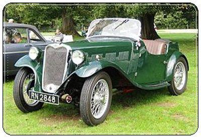 1933 Singer 9 sports.