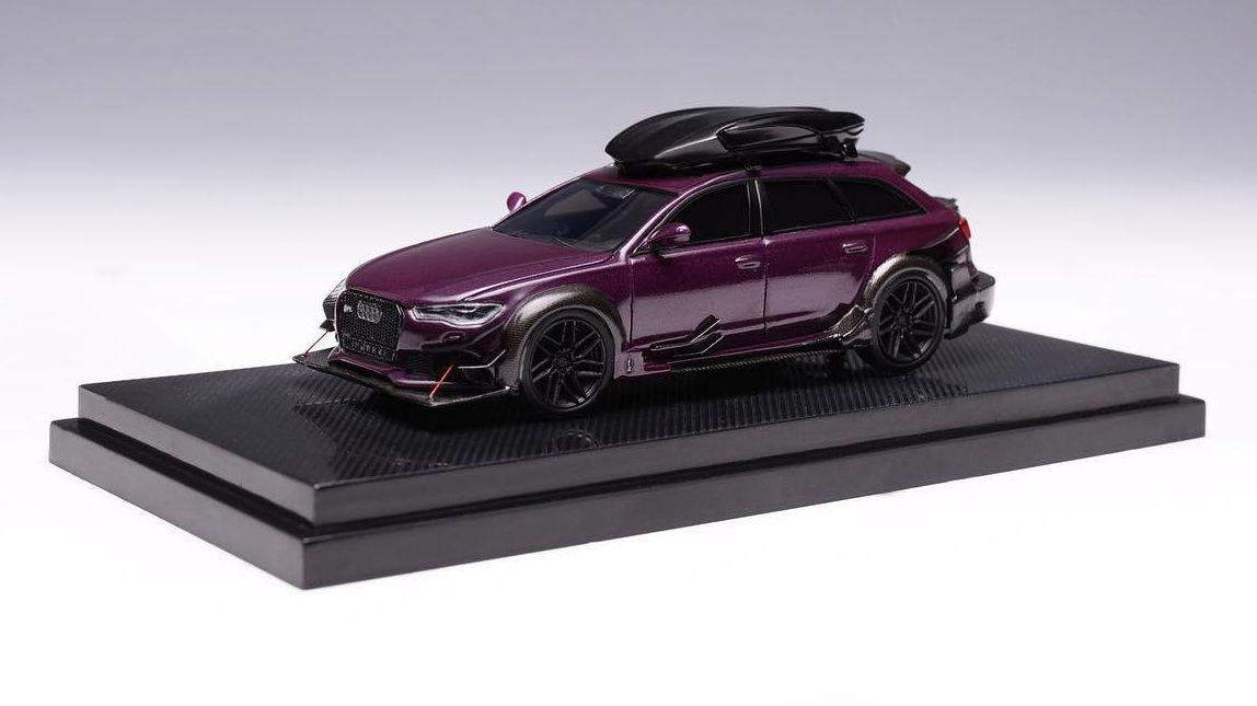 GLM Models rajoute un roof rack à son Audi RS6 Avant