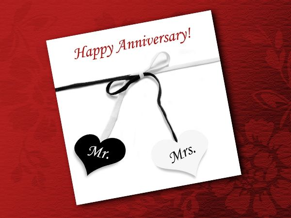Beautiful Wedding Anniversary Cards Collection Husband Wishes Parents Messages Children