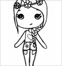 Image Result For We Heart It Bff Chibi Template Chibi Drawings