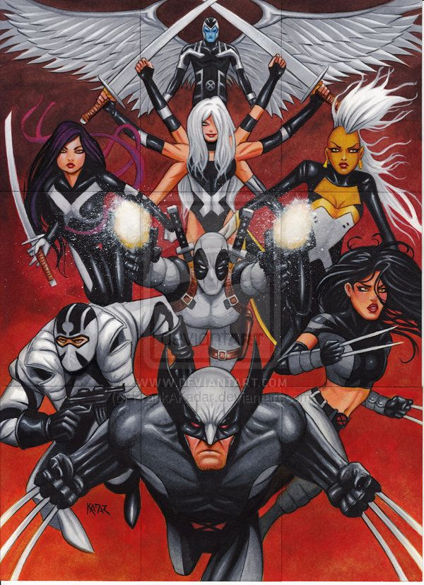 Uncanny X Force Wallpaper Uncanny X Force By Frankakadar X