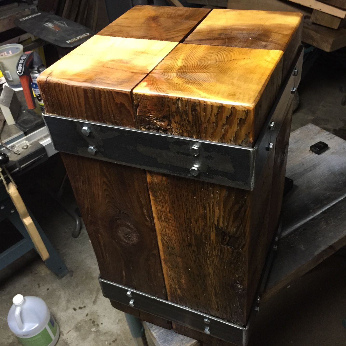 industrial wood furniture. Contemporary Industrial Industrial Night Stand Made By Https  Style  FurnitureIndustrial TableWood  Inside Wood Furniture
