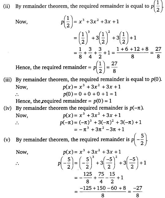 Ncert Solutions For Class 9 Maths Chapter 2 Polynomials Ex 2 3 Cbsetuts Com Https Www Cbsetuts Com Ncert Solutions F Maths Ncert Solutions Polynomials Math