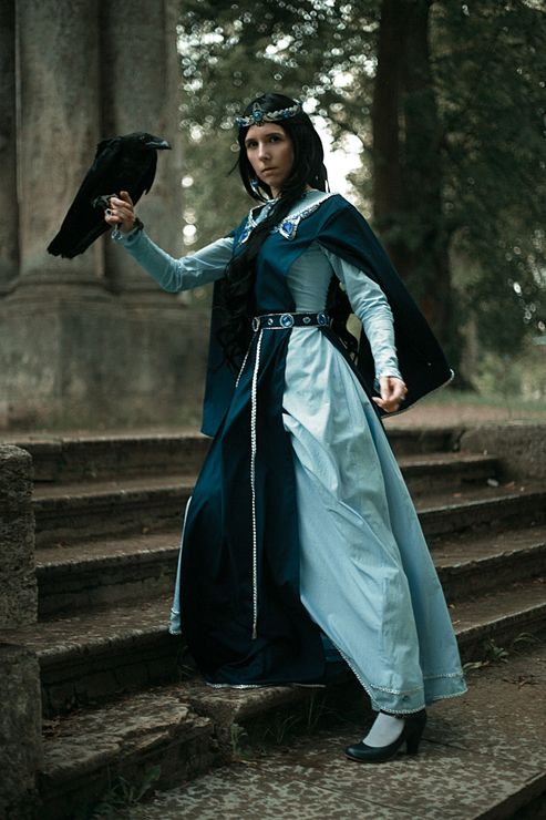 3106cb12659b Founders of Hogwarts (. Rowena Ravenclaw cosplay - FoundersProject Rowena  Ravenclaw Cosplay Photo - Cure WorldCosplay