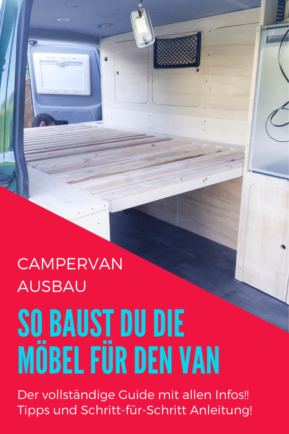 Photo of Campervan self-construction: This is how you build the furniture