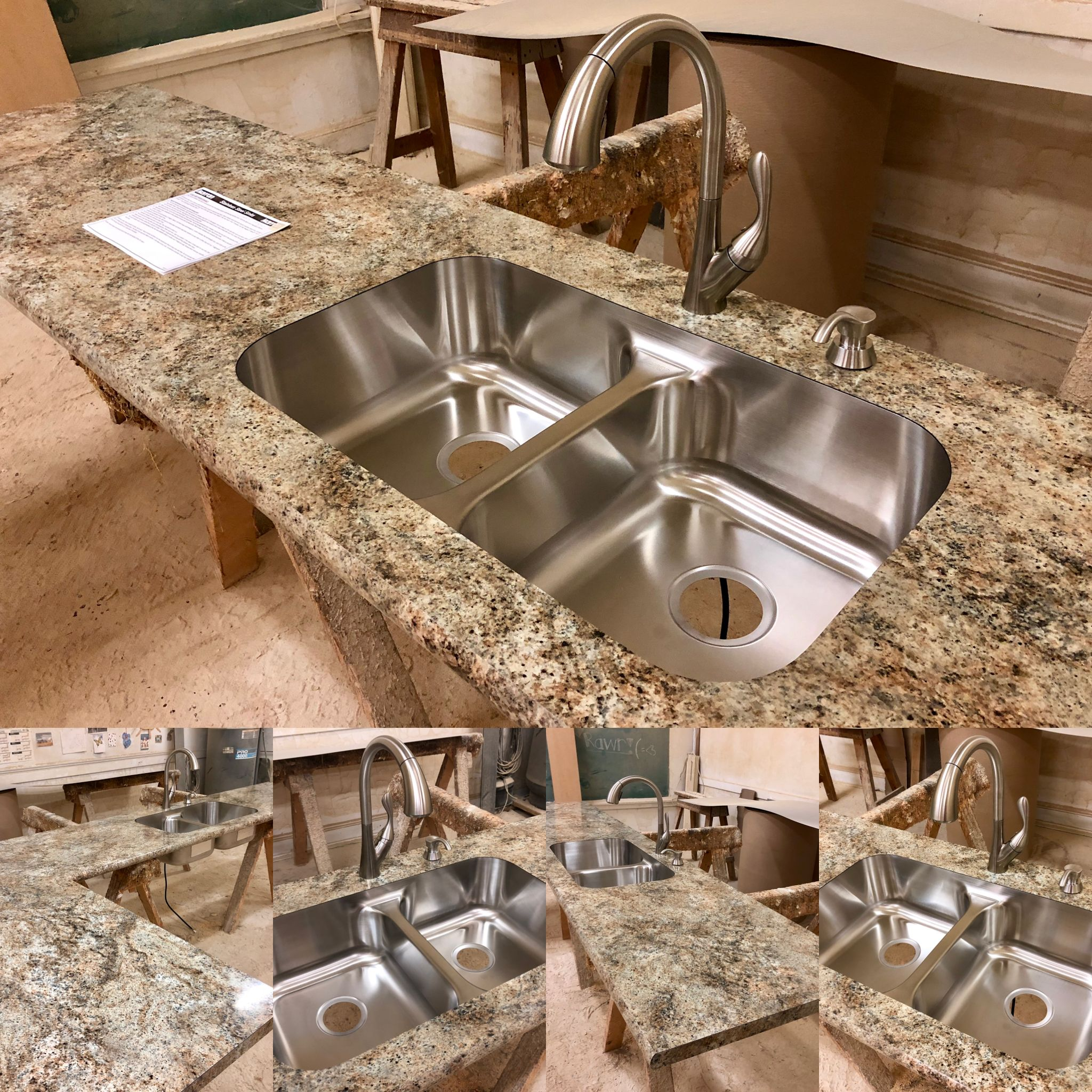 Another Beautiful All Custom Manufactured Here At Poneys S Laminate Countertop This Customer Chose Wil Laminate Countertops Bathroom Countertops Countertops