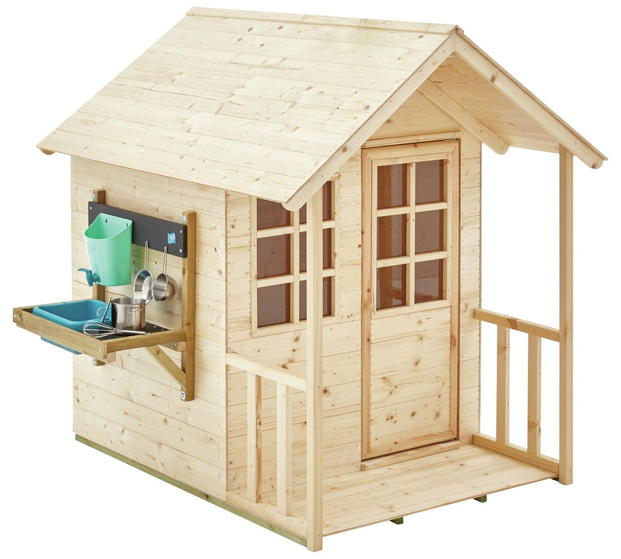 Tp Meadow Cottage Playhouse And Kitchen Garden Play Play