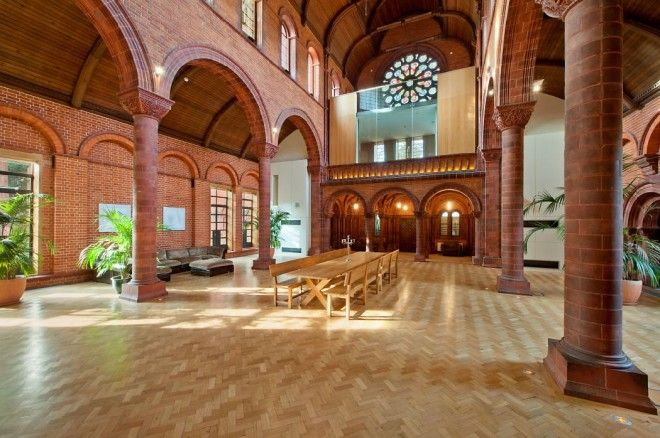 All Saints House. Church converted to home in UK. | Uh, I\'d like one ...