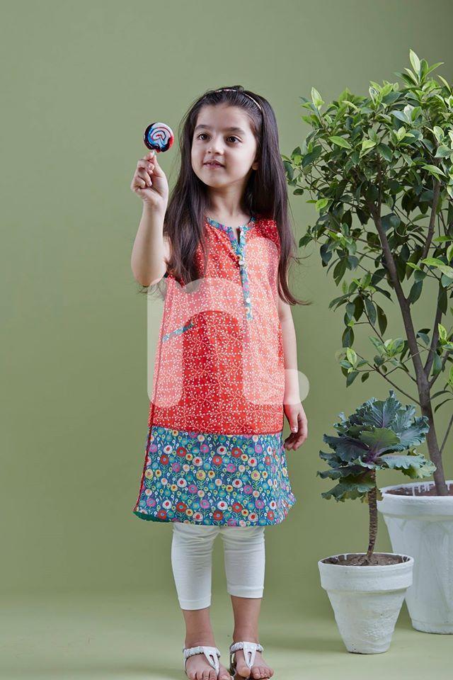 1fc4261d9914 Nishat Linen kids Summer Collection '16 Vol 2 | Kids Fashion | Girls ...