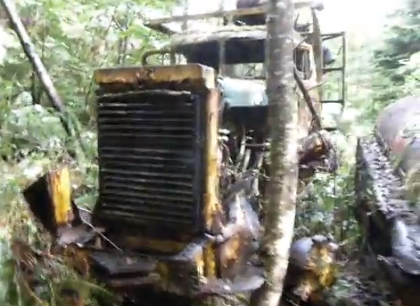 Check this Kenworth Abandoned in Woods